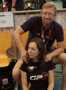 masáž na závodech ve Švýcarsku