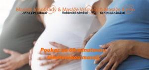 voucher těhotenská masáž